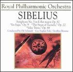 Jean Sibelius: Symphony No. 5 in E-flat major, Op. 82; En Saga, Op. 9; The Swan of Tuonela, Op. 22