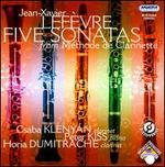Jean-Xavier Lef�vre: Five Sonatas from M�thode de Clarinette