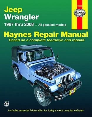 Jeep Wrangler 1987 Thru 2008 - Haynes, Max