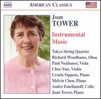 Joan Tower: Instrumental Music - André Emelianoff (cello); Chee-Yun (violin); Joan Tower (piano); Melvin Chen (piano); Paul Neubauer (viola);...