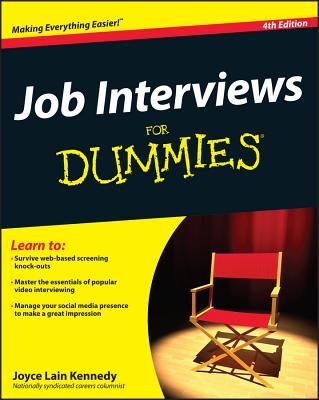 Job Interviews For Dummies - Kennedy, Joyce Lain