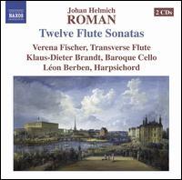 Johan Helmich Roman: Twelve Flute Sonatas - Klaus-Dieter Brandt (cello); Léon Berben (harpsichord)
