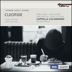Johann Adolf Hasse: Cleofide [Scenes and Arias]