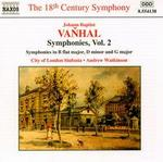 Johann Baptist Vanhal: Symphonies, Vol. 2