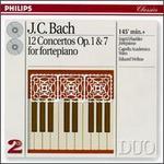 Johann Christian Bach: 12 clavier Concertos Op. 1 & Op. 7