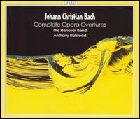 Johann Christian Bach: Complete Opera Overtures - Anthony Halstead (harpsichord); Hanover Band; Anthony Halstead (conductor)