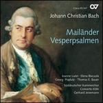 Johann Christian Bach: Mailänder Vesperpsalmen