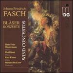 Johann Friedrich Fasch: Bläserkonzerte (Wind Concertos) - Hajo Bass (viola); Hans Koch (violone); Hans-Peter Westermann (oboe); Harald Hoeren (harpsichord); Karl Kaiser (flute);...