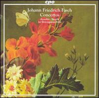 Johann Friedrich Fasch: Concertos - Alessandro Piqué (oboe); Hans-Peter Westermann (oboe); La Stravaganza Köln; Sergio Azzolini (bassoon); Veronika Skuplik (violin)