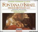 Johann Hermann Schein: Fontana d'Israel