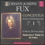 Johann Joseph Fux: Concentus Musico-Instrumentalis, Vol. 1