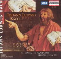 Johann Ludwig Bach: Motets - Christoph Lehmann (organ); Hartwig Groth (violin); Lidewy Scheifes (cello); Love Persson (violin);...