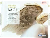 Johann Ludwig Bach: Trauermusik; Motets; Cantatas; Missa brevis - Akira Tachikawa (alto); Annette Schneider (soprano); Bernhard Husgen (bass); Elisabeth Marcks (alto);...