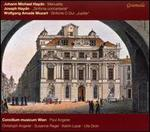 "Johann Michael Haydn: Menuette; Joseph Haydn: Sinfonia concertante; Mozart: Sinfonie in C major ""Jupiter"""