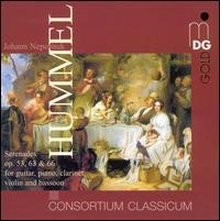 Johann Nepomuk Hummel: Serenades - Consortium Classicum; Sonja Prunnbauer (guitar); Thomas Duis (piano)