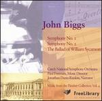 John Biggs: Symphony Nos. 1 & 2; The Ballad of William Shakespeare