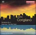 John Corigliano: Symphony No. 2; Suite from 'The Red Violin'