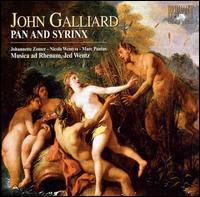 John Ernest Galliard: Pan and Syrinx - Hugo Naessens (vocals); Johannette Zomer (vocals); Jos van der Linden (vocals); Marc Pantus (vocals);...
