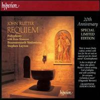 John Rutter: Requiem - Rosa Mannion (soprano); Polyphony (choir, chorus); Bournemouth Sinfonietta; Stephen Layton (conductor)