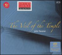 John Tavener: The Veil of the Temple - Adrian Peacock (bass); Alex Mitchell (tubular bells); Alex Mitchell (tibetan bells); Alex Mitchell (tamtam);...