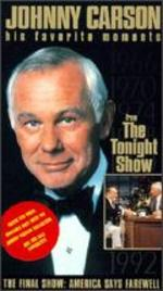 Johnny Carson: His Favorite Moments from The Tonight Show - The Final Show, America Says Farewell