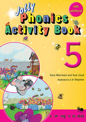 Jolly Phonics Activity Book 5: in Precursive Letters (BE) - Wernham, Sara, and Lloyd, Sue