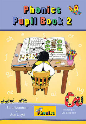 Jolly Phonics Pupil Book 2 (colour edition): in Precursive Letters (BE) - Wernham, Sara, and Lloyd, Sue