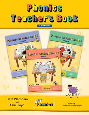 Jolly Phonics Teacher's Book in Print Letters - Wernham, Sara, and Lloyd, Sue