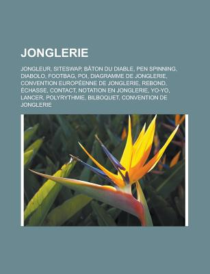 Jonglerie: Jongleur, Siteswap, B[ton Du Diable, Pen Spinning, Diabolo, Footbag, Poi, Rebond, Diagramme de Jonglerie - Groupe, Livres (Editor)