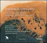 José Manuel López López: Conciertos