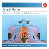 Joseph Haydn: Cello Concertos; Sinfonia concertante - Douglas Boyd (oboe); Martijn Blankestijn (violin); Matthew Wilkie (bassoon); Steven Isserlis (cello);...