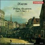Joseph Haydn: String Quartets, Op. 71 Nos. 1,2,3