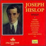 Joseph Hislop, Tenor
