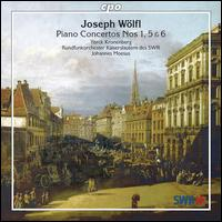 Joseph Wölfi: Piano Concertos Nos. 1, 5 & 6 - Yorck Kronenberg (piano); SWR Radio Orchestra Kaiserslautern; Johannes Moesus (conductor)