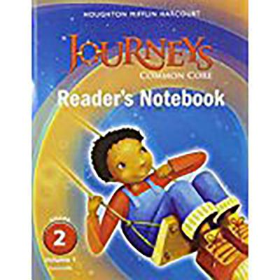 Journeys: Common Core Reader's Notebook Consumable Volume 1 Grade 2 - Houghton Mifflin Harcourt (Prepared for publication by)