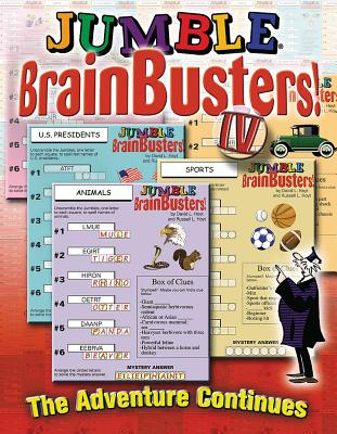 Jumble Brainbusters IV: A New Adventure in Puzzling - Tribune Media Services