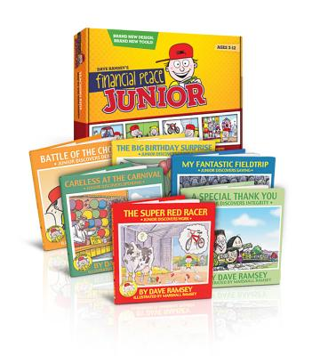 Junior Adventures Boxed Set of Kids' Books: Life Lessons with Junior - Ramsey, Dave