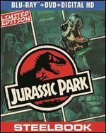 Jurassic Park [2 Discs] [Includes Digital Copy] [UltraViolet] [SteelBook] [Blu-ray/DVD]