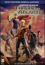 Justice League: Throne of Atlantis [2 Discs]