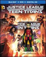 Justice League vs Teen Titans [Deluxe] [Includes Digital Copy] [Blu-ray] [2 Discs]