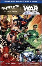 Justice League: War [With Justice League Vol. 1 Graphic Novel] [Blu-ray]