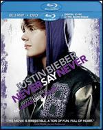 Justin Bieber: Never Say Never [Blu-ray/DVD] [2 Discs] [Includes Digital Copy]