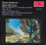 Kabalevsky: Piano Concerto No. 3; Muczynski: Piano Concerto No. 1; A Serenade for Summer