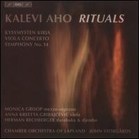 Kalevi Aho: Rituals - Anna Kreetta Gribajcevic (viola); Herman Rechberger (djembe); Herman Rechberger (darbouka); Jukka Koski (tamtam);...