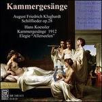 Kammergesänge: August Friedrich Klughardt, Hans Koessler