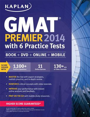 Kaplan GMAT Premier with Access Code - Kaplan