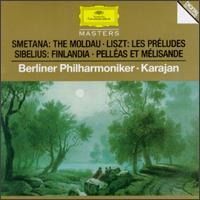 Karajan Conducts Smetana, Liszt, Sibelius - Berlin Philharmonic Orchestra; Herbert von Karajan (conductor)