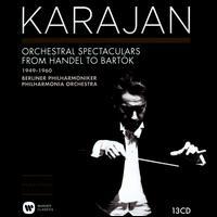 Karajan: Orchestra Spectaculars from Handel to Bartók -