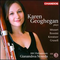 Karen Geoghegan plays Mozart, Rossini, Kreutzer, Crusell - Karen Geoghegan (bassoon); BBC Philharmonic Orchestra; Gianandrea Noseda (conductor)