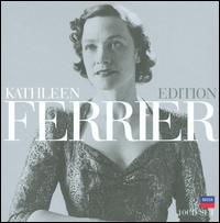 Kathleen Ferrier [Box Set] - Ambrose Gauntlett (viola da gamba); Ann Ayars (vocals); Basil Lam (harpsichord); Benjamin Britten (piano);...